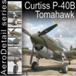 COVERS (curtiss p-40b tomahawk).