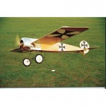 FOKKER E.III (Rubber powered) Plan230