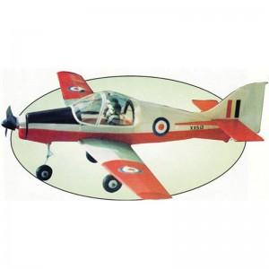 """Scottish Aviation Bulldog 20"""" Plan444"""