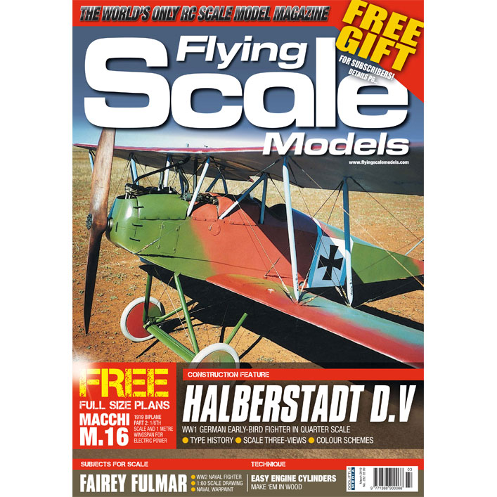 Groovy Doolittle Media Shop Flying Scale Models Issue 232 March 2019 Wiring Digital Resources Remcakbiperorg