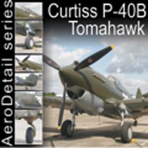 COVERS (curtiss p-40b tomahawk).