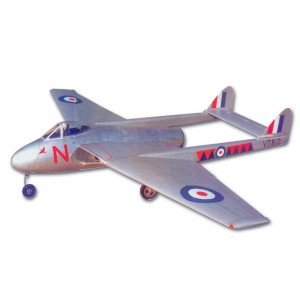 De Havilland Vampire Cut Parts For Plan41