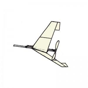 Bruce Tailless Plan MF47