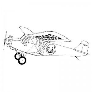"""Buhl Air Sedan 34.5"""" Plan391"""