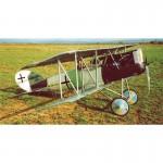 """PFALZ D.XII 89.75"""" Cut Parts For Plan313"""