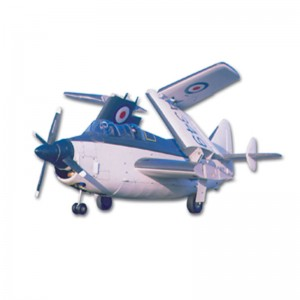 Fairey Gannet A.S.1 Cut Parts For Plan65