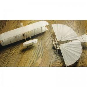 """Wright Flyer & Whitehead 21 both 13"""" Plan450"""